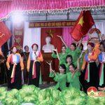 Khu dân cư xóm 1,2,3 xã Đà sơn tổ chức ngày hội Đại đoàn kết dân tộc.