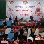 Đô Lương 1200 người tham gia hiến máu đợt 3 năm 2017