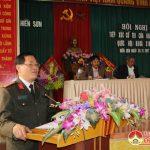 Đại biểu Quốc hội tiếp xúc cử tri tại xã Hiến Sơn
