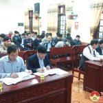 UBND huyện Đô Lương tổ chức hội nghị tổng kết thực hiện  kinh tế xã hội, quốc phòng an ninh năm 2017