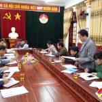 Thường trực HĐND huyện nghe ý kiến phản ánh cử tri trước kỳ họp thứ V
