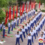 Trường THCS Lý Nhật Quang tập trung chuẩn bị cho lễ kỷ niệm 40 năm thành lập trường