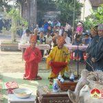 Xã Lưu Sơn tổ chức lễ tế thần  Thái Phó Tấn Quốc Công Nguyễn Cảnh Hoan tại đình Phú Thọ