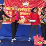 Xóm 9, xã Nhân Sơn tổ chức ngày hội đại đoàn kết toàn dân