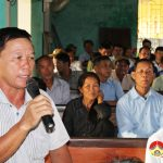 Đại biểu HĐND huyện tiếp xúc cử tri xóm Thống Nhất, Đông Sơn