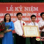 Trường Trường Tiểu học Tràng Sơn đón nhận trường đạt chuẩn Quốc gia mức độ 2.