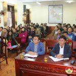 Đảng bộ cơ quan UBND huyện tổ chức tổng kết công tác xây dựng đảng năm 2017.