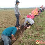150 đoàn viên xã Đông Sơn tham gia nạo vét kênh mương