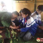 Học sinh khối 5 trường Tiểu học Thị Trấn Đô Lương hành trình tri ân và trải nghiệm thực tế tại Tiểu đoàn 16