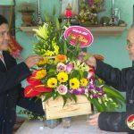 Đồng chí Lê Minh Giang chúc mừng Noel Giáo xứ Thanh Tân.