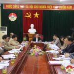 UBND huyện Đô Lương tổ chức hội nghị đánh giá kết quả tháng 12 và triển khai nhiệm vụ tháng 1/2018.
