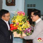 Đồng chí Ngọc Kim Nam thăm và tặng quà tại giáo xứ Lưu Mỹ và Trù Sơn