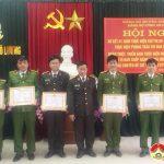 Công an Đô Lương: Sơ kết 1 năm thực hiện chỉ thị 05 của Bộ chính trị và 2 năm thực hiện phong trào dân vận khéo.