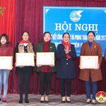 Hội liên hiệp phụ nữ tổng kết phong trào hoạt đọng hội năm 2017