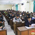 Ban tuyên giáo huyện ủy tổ chức hội nghị báo cáo viên tháng 12/2017