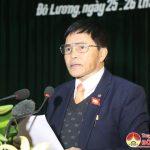 Ông Lê Minh Giang – Chủ tịch HĐND huyện bế mạc kỳ họp lần thứ 5, HĐND huyện khóa XIX.