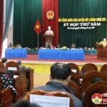 Đô Lương: Tổ chức kỳ họp HĐND huyện lần thứ 5, nhiệm kỳ 2016-2021