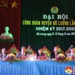 Đại hội công đoàn huyện Đô lương lần thứ VIII nhiệm kỳ 2017-2022.
