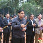 Đồng chí Nguyễn Đắc Vinh – Ủy viên trung ương Đảng,  Bí thư tỉnh ủy về thăm và làm việc tại Đô Lương