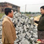 Hội nông dân huyện: Trao trên 24 ngàn viên gạch xây trường Mầm non- Trung Sơn