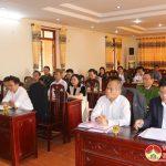 UBMTTQ và các đoàn thể tổ chức góp ý kiến  xây dựng Đảng, xây dựng Chính quyền