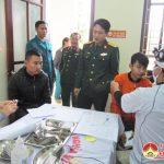 Đô Lương khám tuyển nghĩa vụ quân sự năm 2018