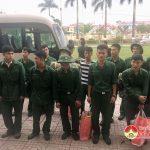 Đô Lương: Tổ chức lễ đón nhận 176 quân nhân hoàn thành nghĩa vụ quân sự trở về địa phương.