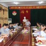 UBND huyện Đô Lương tổ chức hội nghị thường kì tháng 1 năm 2018
