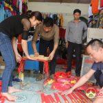 Đô Lương chuẩn bị cho trận Chung kết giữa đội tuyển U23 Việt Nam với đội tuyển U23 Uzbekistan