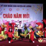 Đô Lương tổ chức đêm ca nhạc mừng năm mới