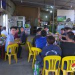 Đô Lương: Chật kín người  xem và cổ vũ đội tuyển Việt Nam tại các quán vỉa hè