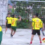 Xã  Mỹ Sơn tổ chức giải bóng chuyền mừng Đảng, mừng xuân