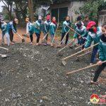 Huyện Đoàn Đô Lương: Ra quân tu sửa các tuyến giao thông trọng điển trên địa bàn