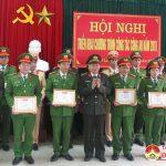 Công an huyện Đô Lương tổ chức hội nghị tổng kết
