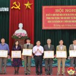 Huyện ủy Đô Lương: Sơ kết 1 năm thực hiện chỉ thị 05 CT/TW, 2 năm phong trào thi đua dân vận khéo và tổng kết thực hiện quy chế dân chủ cơ sở năm 2017