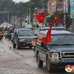 Đô Lương tổ chức lễ phát động năm An toàn giao thông và giải tỏa vi phạm hành lang ATGT năm 2018