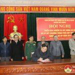 Đô Lương tổ chức tổng kết xây dựng cơ sở vững mạnh toàn diện và ký kết thực hiện nhiệm vụ Quân sự – Quốc phòng