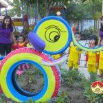 Trường mầm non Hòa Sơn tổ chức hoạt động ngoài giờ lên lớp