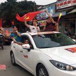 Trước, trong trận chung kết Bóng đá U23 Châu á tại Đô Lương