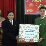 Đồng chí Lê Minh Giang – PBT thường trực huyện ủy thăm và chúc tết các đồng chí nguyên là lãnh đạo các thời kỳ
