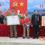 Xã Đặng Sơn tổ chức đón bằng công nhận đạt chuẩn  nông thôn mới.