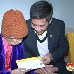 Tập đoàn CIENCO 4 tặng quà Mẹ Việt Nam anh hùng nhân dịp tết nguyên đán 2018.