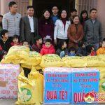 Hội doanh nghiệp huyện Đô Lương trao 70 suất quà cho các cháu trẻ em tật nguyền