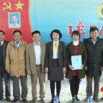 LĐLĐ Đô Lương lễ ra mắt công đoàn cơ sở Cty cổ phần May Minh Anh