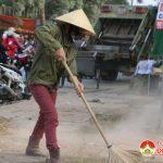 Thị Trấn Đô Lương: đảm bảo vệ sinh môi trường trong dịp tết.