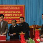 Bảo hiểm xã hội Đô Lương đóng góp 21 thẻ bảo hiểm y tế tặng người nghèo