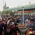 Tân Sơn tổ chức lễ khai hạ Đền Khai Long