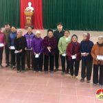 Công ty cổ phần đầu tư xây dựng Tuấn Lộc tặng 76 suất quà cho hộ nghèo
