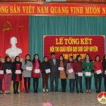 Phòng GD&ĐT huyện Đô Lương tổ chức tổng kết hội thi giáo viên dạy giỏi huyện bậc tiểu học chu kì 2017 – 2019