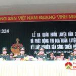 Sư đoàn 324: Tổ chức ra quân huấn luyện năm 2018